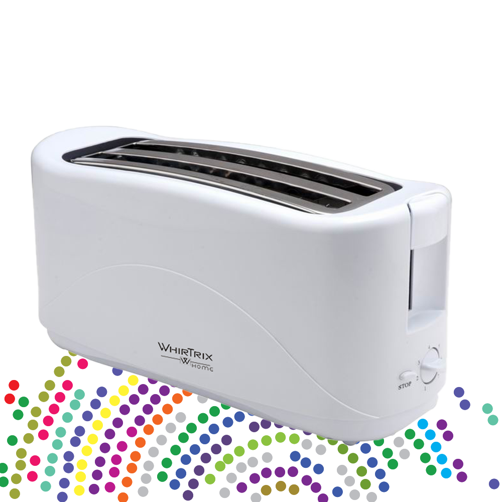 4 slice toaster WhirTrix Home